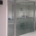 glass office partitioning perth